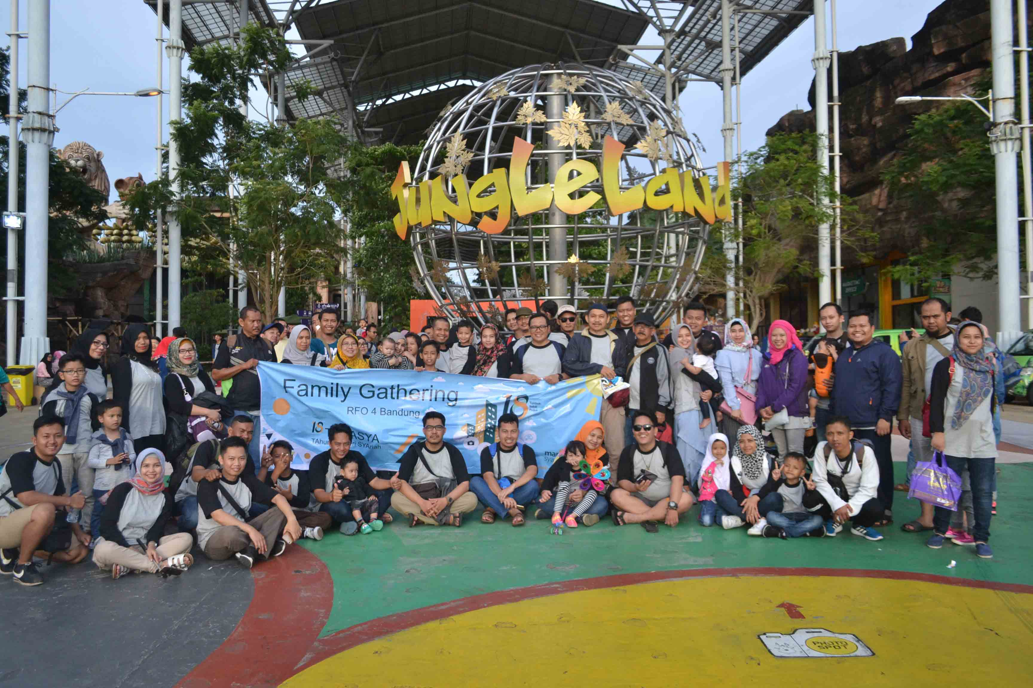 Bank Syariah Mandiri Goes To Jungle Land Bogor